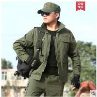 户外军迷野战军练服耐磨军装衣服绿迷彩服男套装特种兵作战训