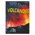 100 Facts Volcanoes 100个事实系列火山 儿童百科科普知识大全百科全书 英文原版进口