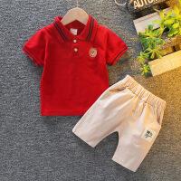 男童夏装婴儿童装套装宝宝夏季短袖两件套