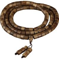 印尼正宗加里曼丹沉香手链108颗桶珠 木佛珠念珠手链男 密油老料