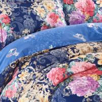 磨毛四件套全棉加厚秋冬季纯棉床单被套1.5米2.0保暖1.8m床上用品