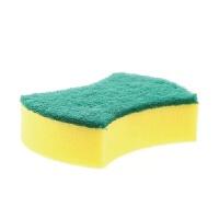 双面力去污清洁海绵擦 魔力擦百洁布厨房洗锅刷洗碗海绵 单片装