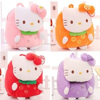 Hello Kitty水果儿童背包凯蒂猫公仔书包KT双肩包幼儿园女孩