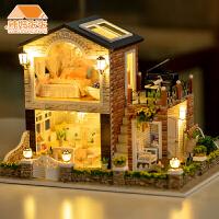 儿童diy小屋爱尔兰乡村手工制作小房子模型大型别墅创意生日礼物