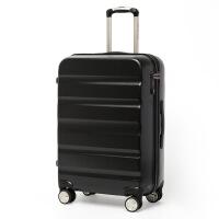 旅行箱�f向�拉�U箱女休�e22寸24寸28寸密�a登�C行李箱