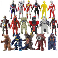 万代奥特曼超人银河赛罗迪迦捷德欧布软胶人偶怪兽玩具
