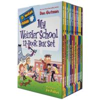 我的疯狂学校3第三季12册套装 英文原版书 My Weirder School 章节书 美国小学阅读教材 儿童英语读物