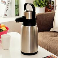 欧润哲 家用时尚企鹅款气压式热水瓶 不锈钢保温壶暖水壶