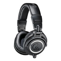 铁三角(Audio-technica)ATH-M50X 头戴式专业全封闭监听音乐HIFI耳机 手机耳麦