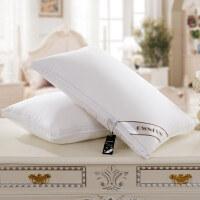 羽绒枕芯五星级酒店枕头95白鹅绒三层单人全棉枕头护颈椎枕