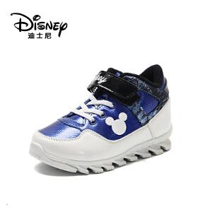 鞋柜/迪士尼秋冬款男童米妮细扣带休闲鞋运动鞋1
