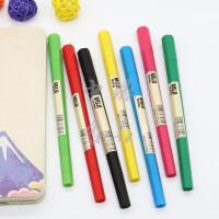 日本MUJI无印良品彩色笔六角水彩笔彩色水性双头笔彩色画笔勾线笔