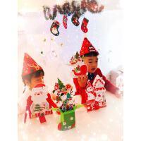 儿童贺卡DIY制作手工材料包3D立体 花朵幼儿园自制卡片小学生创意