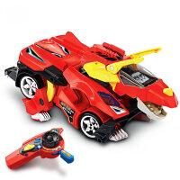 遥控恐龙三角龙 儿童遥控汽车赛车玩具2-8岁男孩