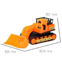 儿童玩具仿真工程车推土机叉车模型男女孩玩具幼儿园