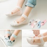儿童袜子夏季薄款丝袜宝宝公主船袜夏天短袜