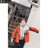 短款毛呢外套女装2017秋冬季韩版风衣小个子冬装厚款呢子大衣