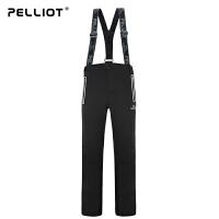 法国PELLIOT/伯希和  滑雪裤男 户外加厚保暖防水透气专业登山裤