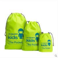 结实耐用束口袋套装多彩收纳包数码包抽绳家居旅行储物袋