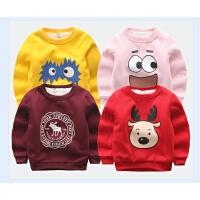 儿童卫衣秋冬装中大童保暖卫衣男童女童宝宝上衣