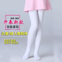 女童练功袜春秋儿童舞蹈袜子白色夏薄款宝宝连裤袜打底裤跳舞丝袜