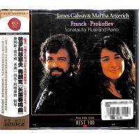 普罗科菲耶夫弗朗克长笛奏鸣曲CD( 货号:1065083130004923)