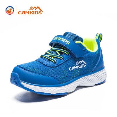 CAMKIDS2018春季新女童鞋儿童运动鞋男童休闲鞋中大童跑步鞋