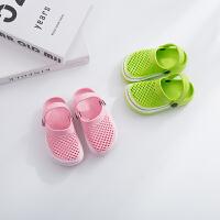 儿童拖鞋男童夏季儿童女童软底透气室内防滑儿童沙滩凉拖鞋