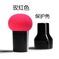 圆头小蘑菇头化妆海绵粉扑葫芦美妆蛋彩妆气垫BB干湿两用化妆工具
