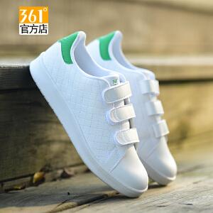 361女鞋板鞋秋冬新款时尚平底鞋361度正品女小白鞋