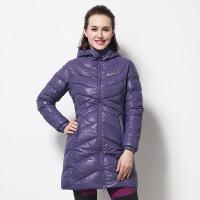 探路者TOREAD户外冬季女式长款保暖修身羽绒服HADE92142