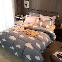 冬季床上被子加厚保暖冬天被芯学生宿舍单人冬被双人2.0m宽棉被子