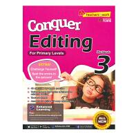 SAP Conquer Editing 3 三年级英语改错题专项练习册 攻克改错系列 9岁 新加坡小学英语教辅教材 英