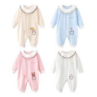 班杰威尔 婴儿连体衣春秋新生儿哈衣爬服装夏季婴儿衣服男女宝宝0-3-6个月