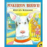 【11.11狂欢钜惠】美国进口Pinkerton, Behave! 宾可,好样儿的英文原版绘本生活日常故事 可爱的狗狗 3--8岁儿童绘本平装