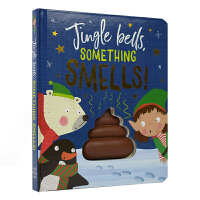 Jingle Bells Something Smells 铃儿响叮当 圣诞故事儿童英语趣味启蒙 便便认知仿真玩具书