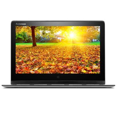 Lenovo联想 YOGA 3 PRO 13.3英寸触控超极本(双核5Y71 4G 256G固态硬盘 高清炫彩屏 背光键盘 摄像头 蓝牙 Win8.1)皓月银