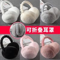 韩版可爱耳罩保暖男耳包女冬汉堡耳套耳捂耳暖可折叠耳捂护耳朵罩