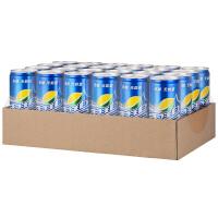 6月 可口可乐 雪碧零卡 清爽柠檬味汽水 330ml*24罐/箱 碳酸饮料 汽水 无能量