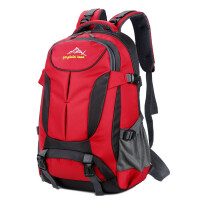 22100男士大容量双肩包登山旅行背包韩版潮女士电脑包旅游双肩背包