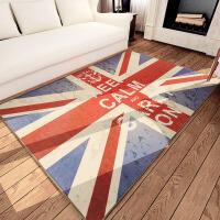 地毯现代简约地垫客厅茶几毯卧室进门长方形门垫防滑脚垫 英伦风尚