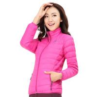 新款秋冬季女装户外保暖透气薄款羽绒衣