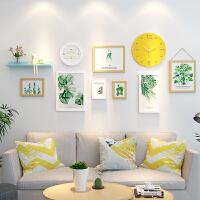 客厅照片墙装饰简约小清新相片墙个性相框创意挂墙组合套装背景墙