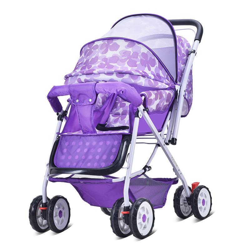 婴儿手推车车超轻便避震双向可坐躺折叠宝宝四轮儿童小孩童车