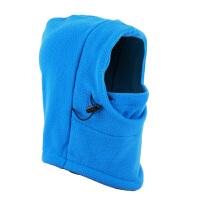 儿童款户外滑雪抓绒帽滑雪面罩保暖防风帽脖套护脸面罩SN8528