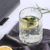 高硼硅玻璃杯耐热夏天家用无盖迷你水杯女啤酒杯果汁杯威士忌SN8203