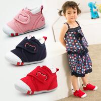 宝宝学步鞋秋女1一2岁 婴儿软底布鞋男童防滑机能鞋幼儿棉布童鞋