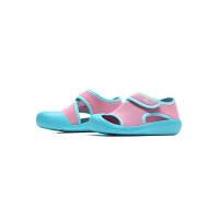 adidas阿迪达斯童夏季新款运动鞋女婴童魔术贴休闲凉鞋BY2240