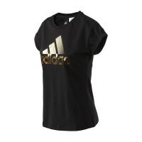 adidas阿迪达斯女装短袖T恤2017年新款运动服BS3220