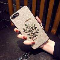 苹果X手机壳挂绳iPhone7/8plus套6sp冬天女款全包壳